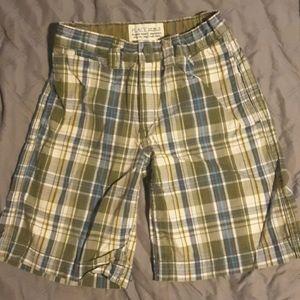 Childrens Place Plaid shorts